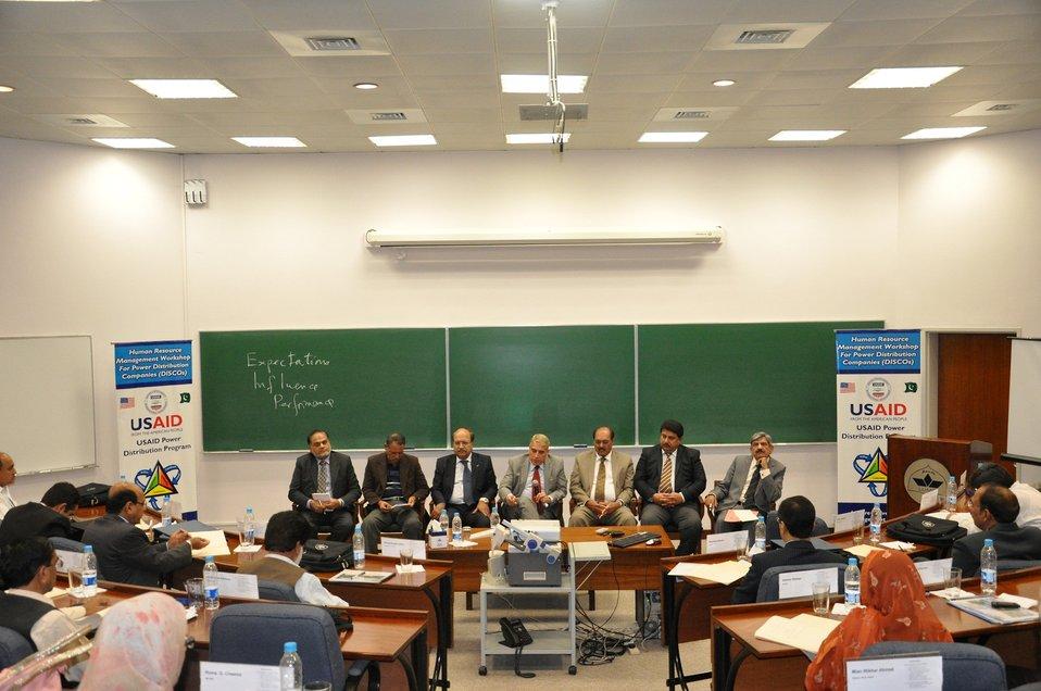 Human Resource Workshop at Lahore University of Management Sciences (LUMS)