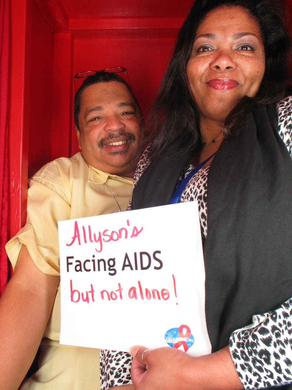 Allyson's Facing AIDS but not alone!