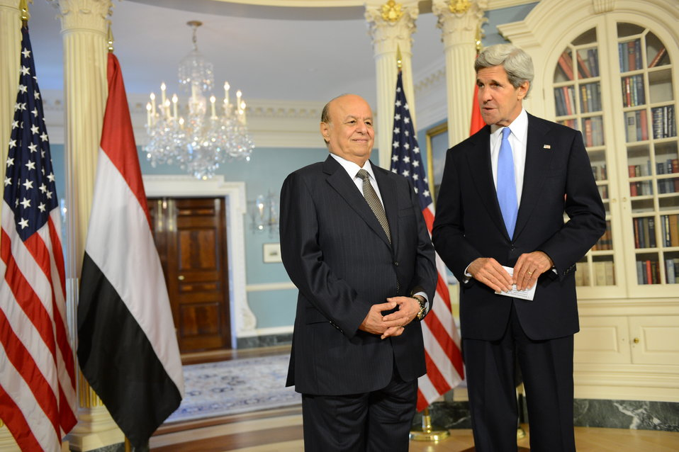 Secretary Kerry and Yemeni President Hadi Address Reporters