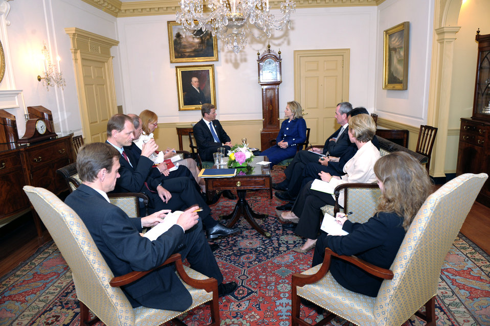 Secretary Clinton Meets With German Foreign Minister Westerwelle