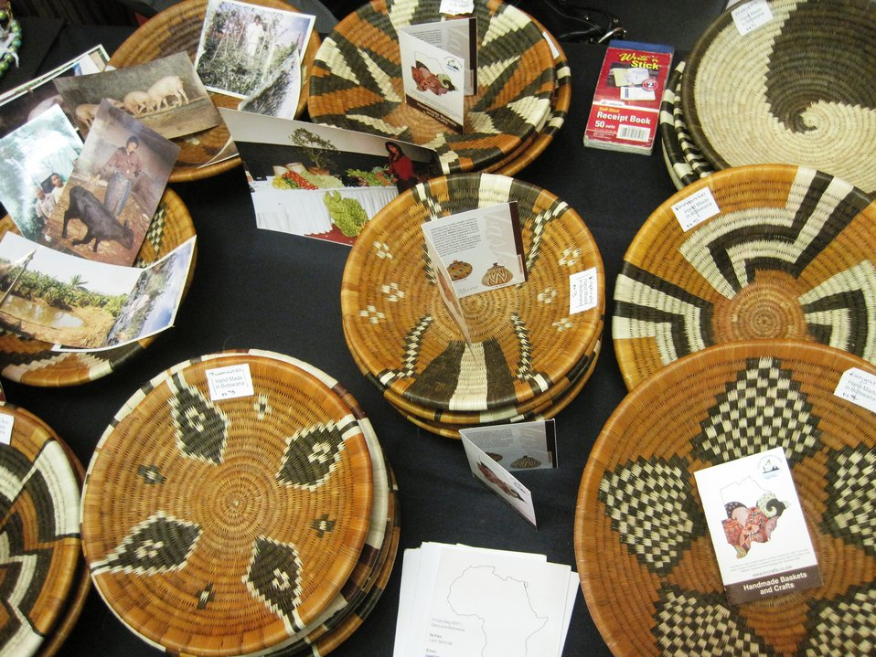 AGOA Forum Participants Display Products