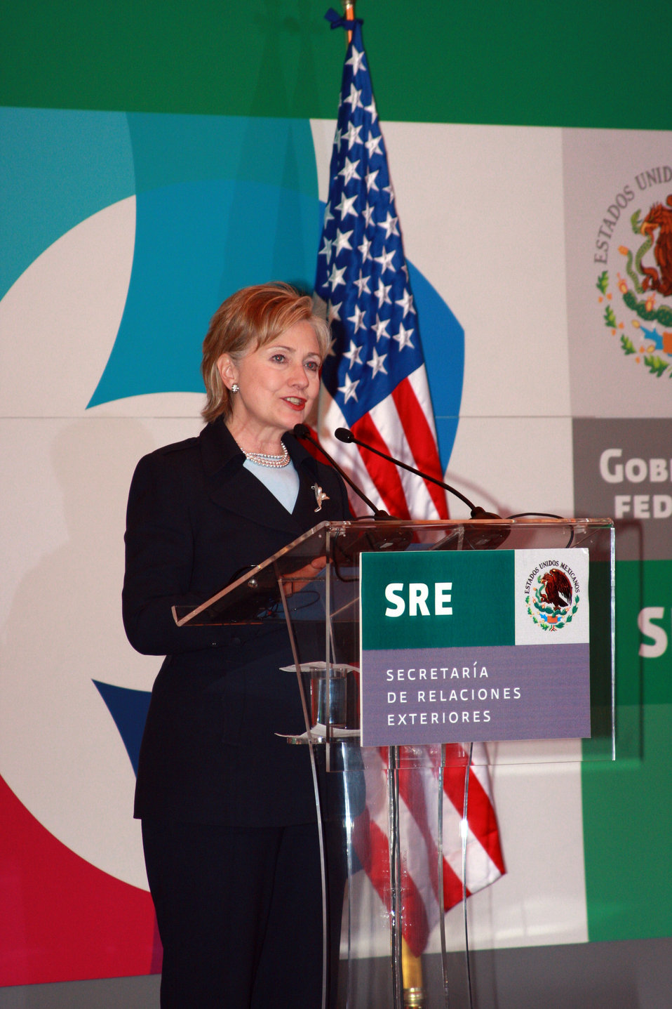 Secretary Clinton and Mexican Foreign Minister Press Conference