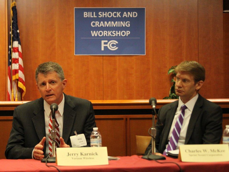 April 17, 2013 Bill Shock and Cramming Workshop