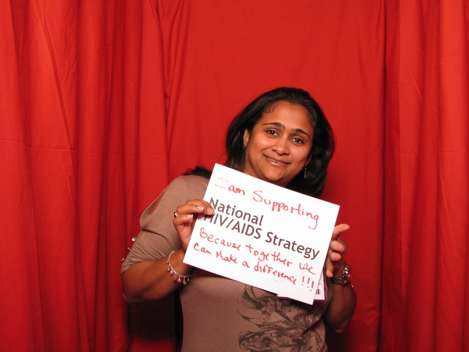 I am Supporting the National HIV/AIDS Strategy because Together We Can Make a Difference!!!