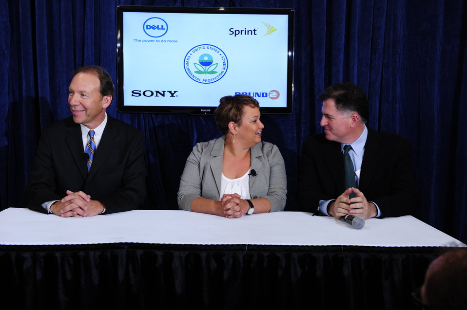 July 20, 2011-Dell and Sprint make voluntary commitments to promote electronics recycling