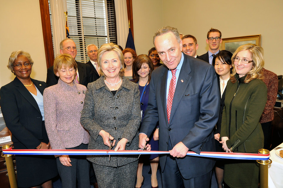 Secretary Clinton Unveils New State Senate Liaison Office
