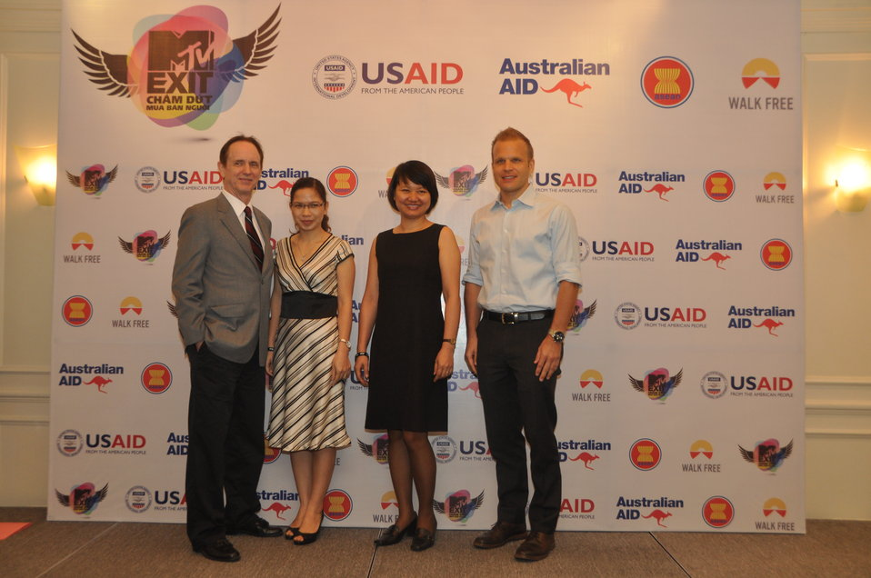 USAID joins MTVExit to launch documentary and awareness campaign against human trafficking
