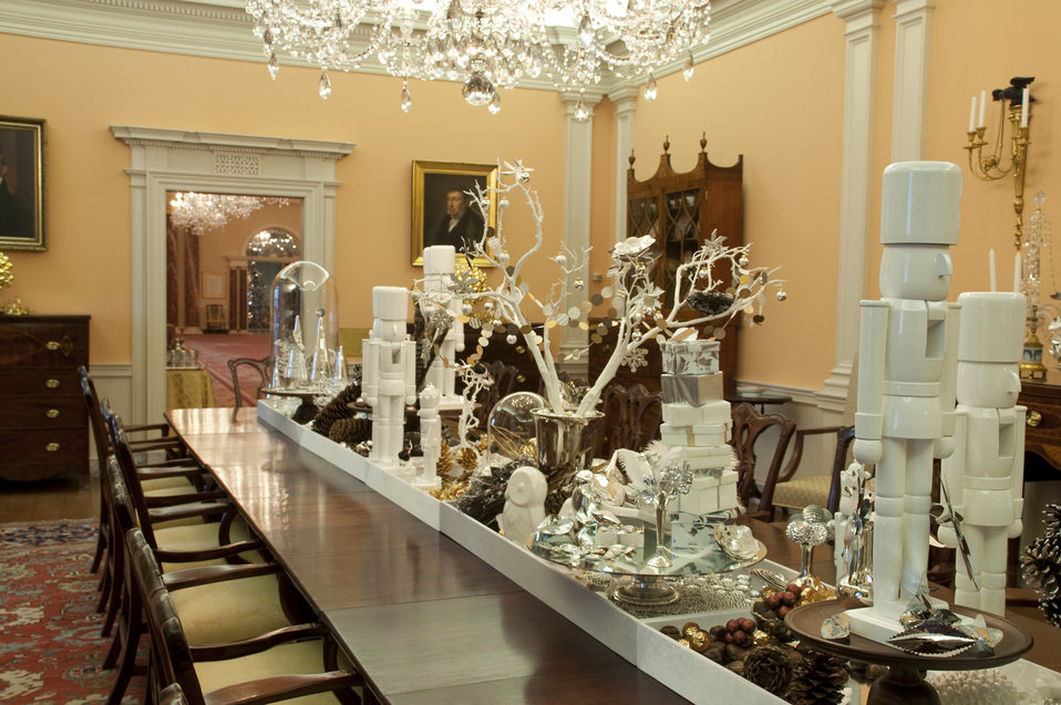 The U.S. Department of State Partners With Time Inc. and InStyle To Decorate the James Monroe Reception Room