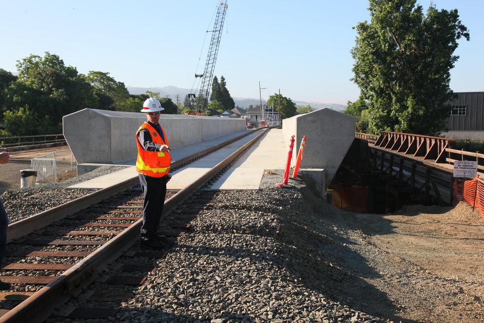 New railroad bridges open in Napa