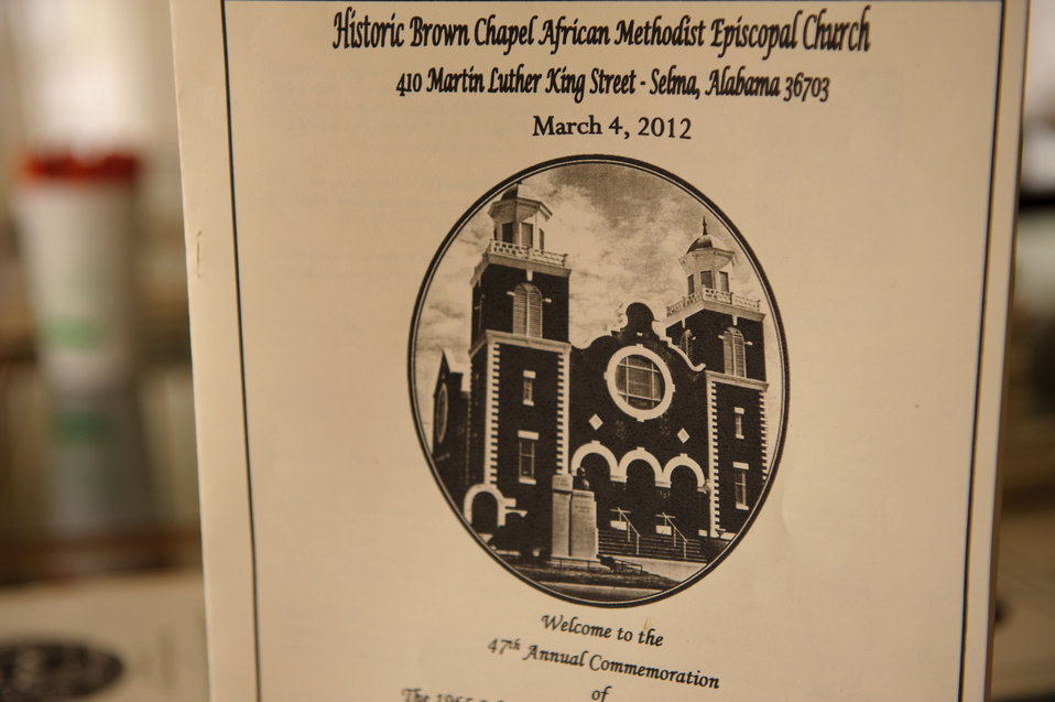 March 4, 2012 47th Annual Commemoration of the Congressional Civil Rights Pilgrimage