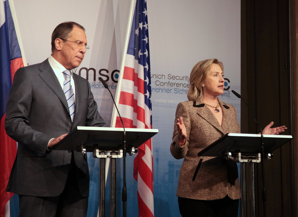Secretary Clinton and Russian Foreign Minister Lavrov Deliver Remarks
