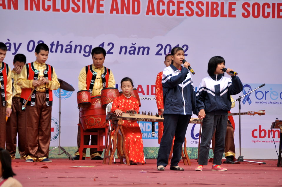 USAID joins celebration of International Day of Persons with Disabilities in Hanoi, Vietnam