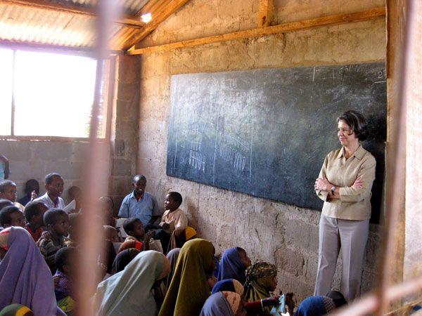 Under Secretary Otero Observes Kenyan Classroom