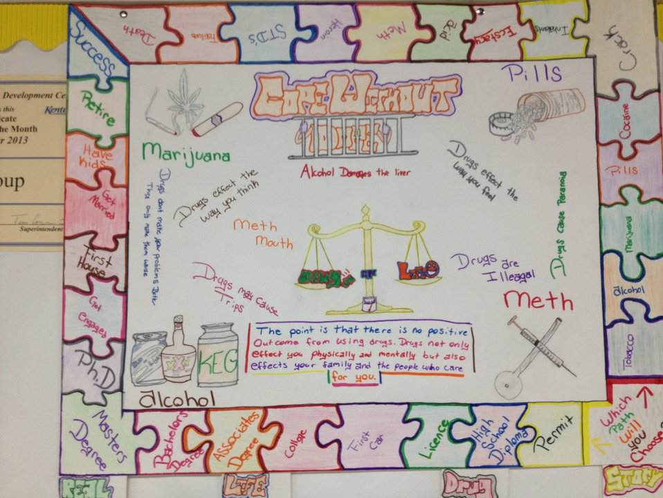 Monticello's NDFW  Poster Contest Winner 2014
