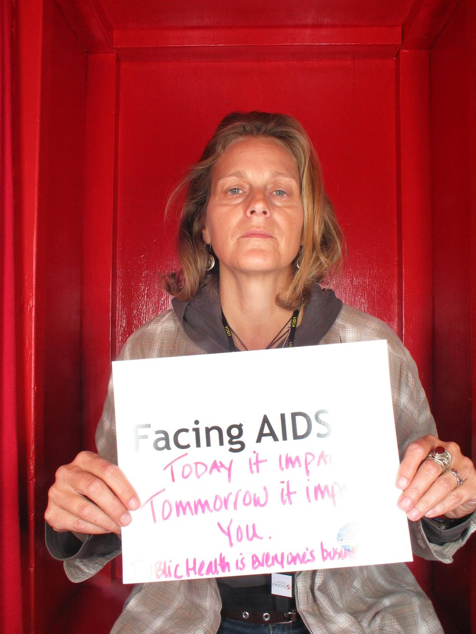 Facing AIDS today it impacts...tomorrow it impacts YOU. Public Health is everyone's business
