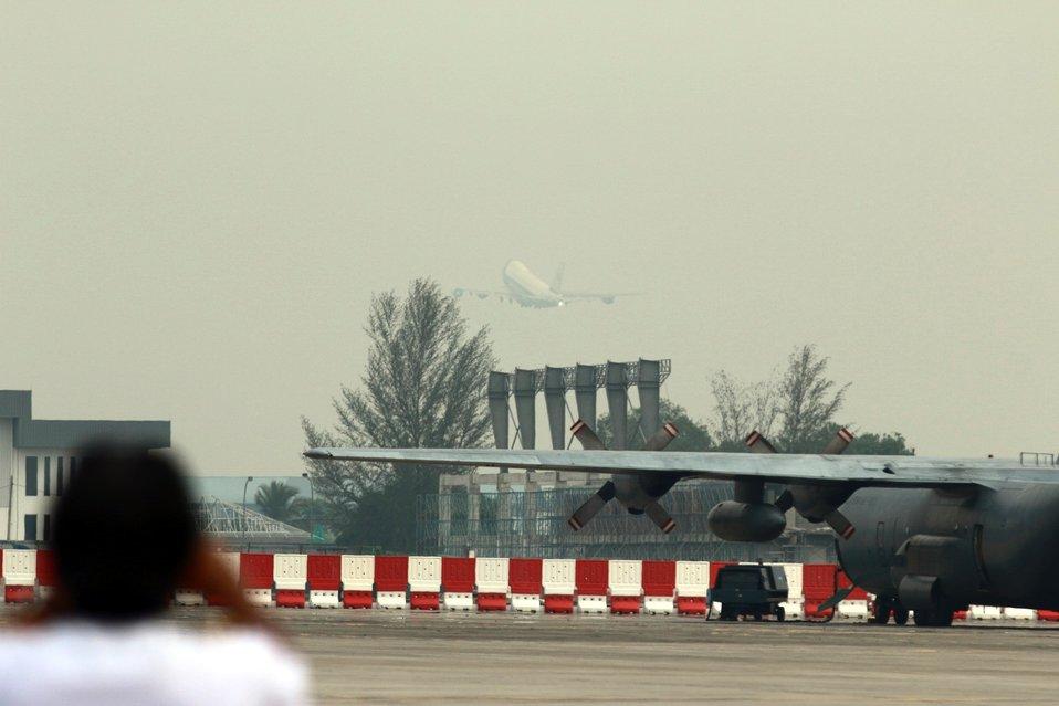 President Obama Departs Kuala Lumpur