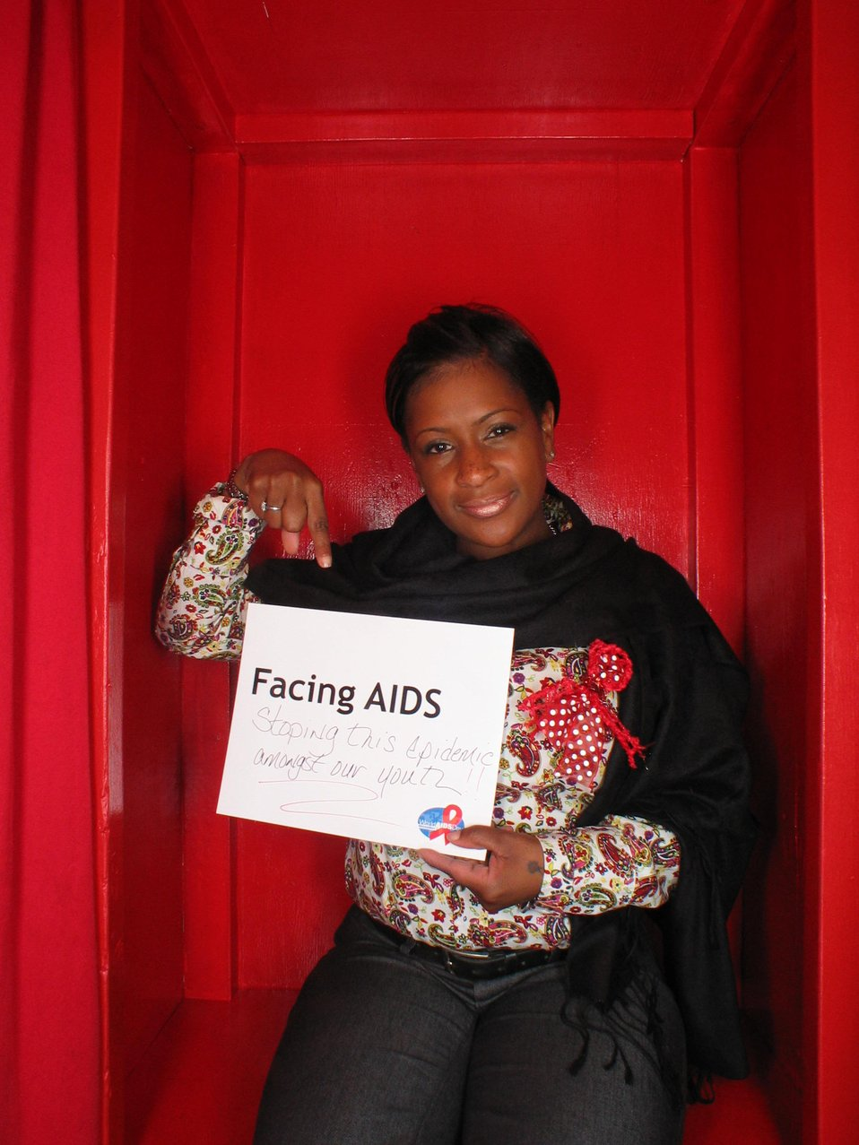 Facing AIDS stoping this epidemic ... our youth!!!