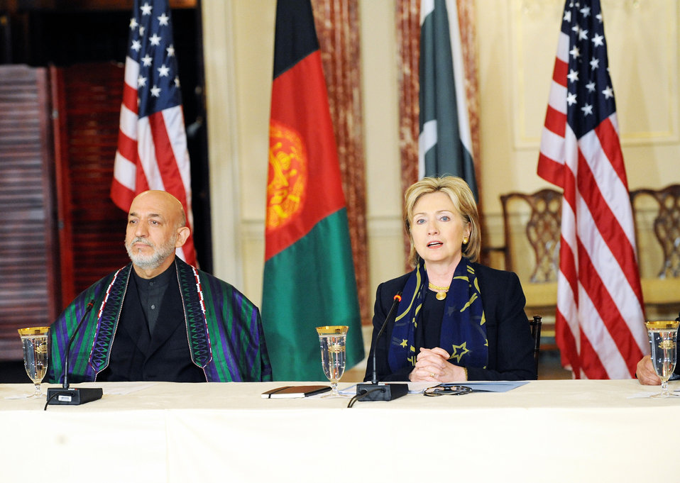 Trilateral Consultations With Afghanistan and Pakistan