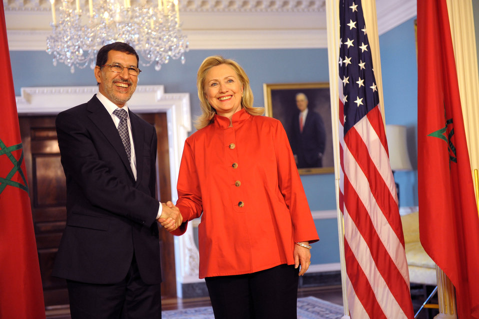 Secretary Clinton Meets With Foreign Minister Al-Othmani of Morocco