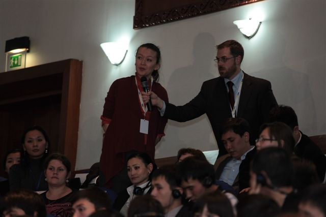 A Student Asks Secretary Clinton a Question