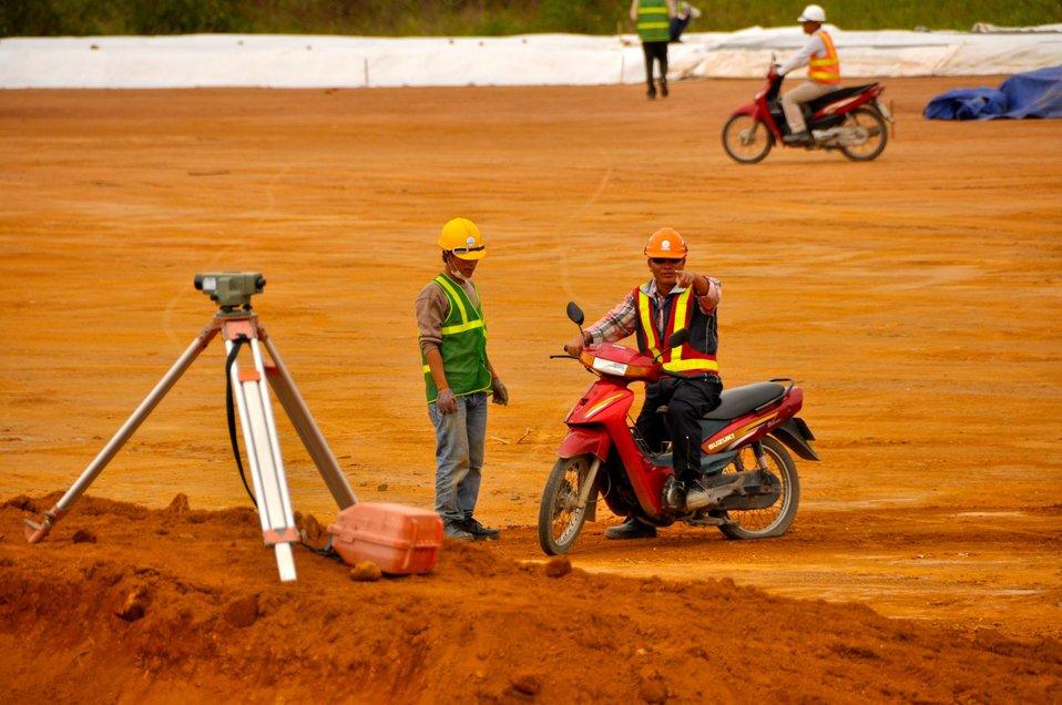 Site Preparation for Environmental Remediation of Dioxin Contamination at Danang Airport