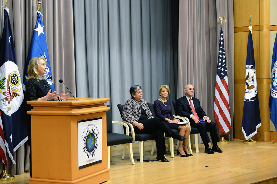 Secretary Clinton Delivers Remarks at the Presentation of Certificates of U.S. Citizenship
