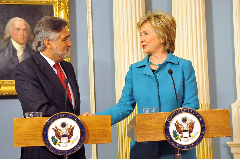 Secretary Clinton With Portuguese Foreign Minister