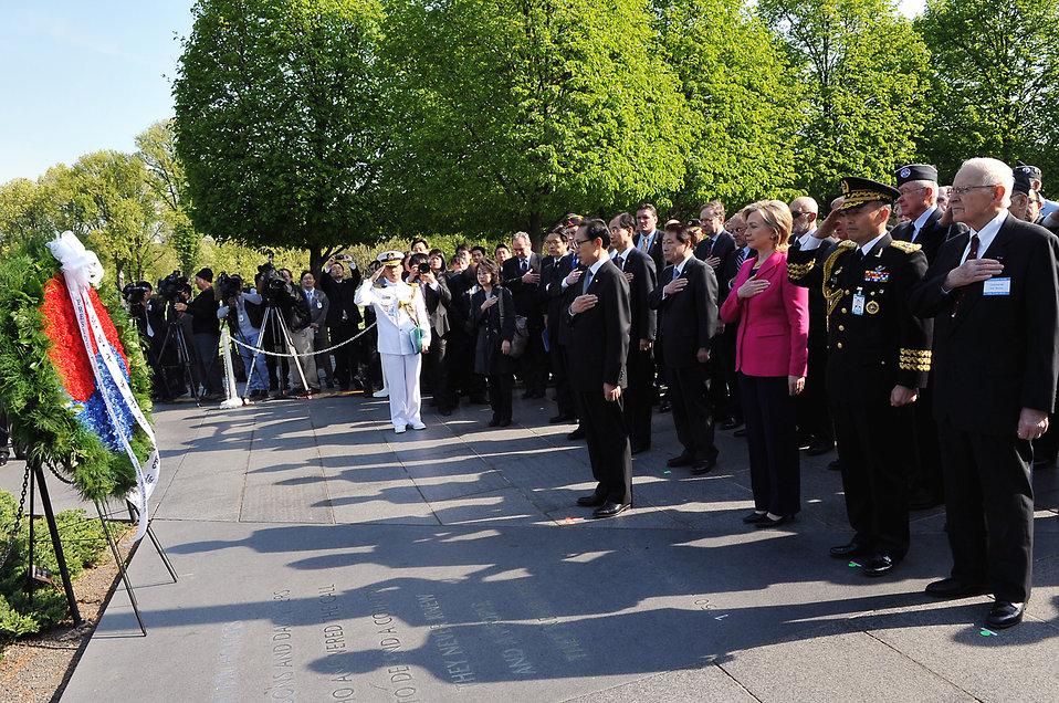 Secretary Clinton Marks 60th Anniversary of the Korean War