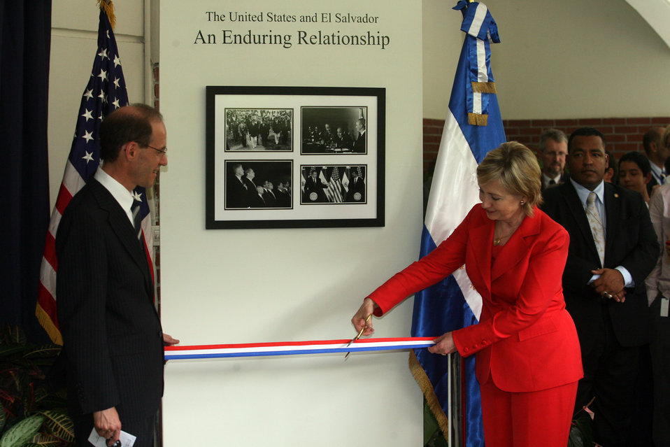 """Photo Exhibit: """"The United States and El Salvador, An Enduring Relationship'"""