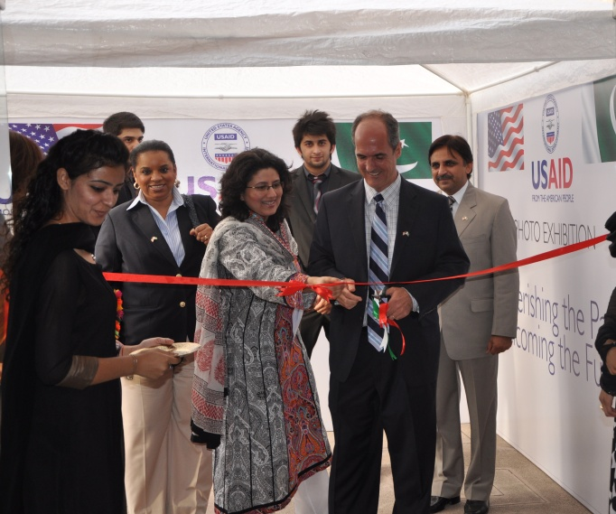 Provinicial Mission Director Punjab Ted Gehr arrives for the inauguration