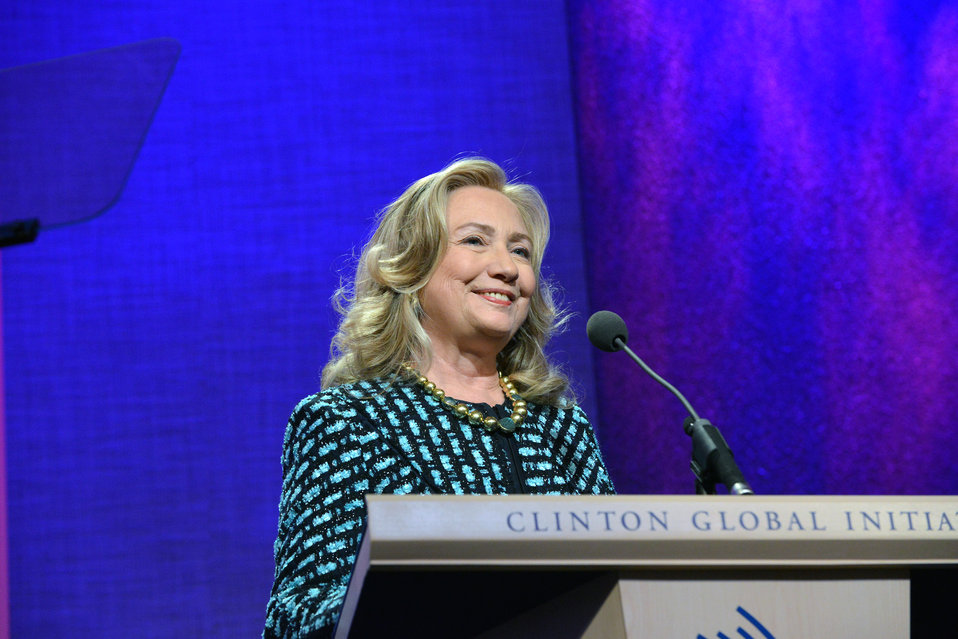 Secretary Clinton Delivers Remarks at the Clinton Global Initiative