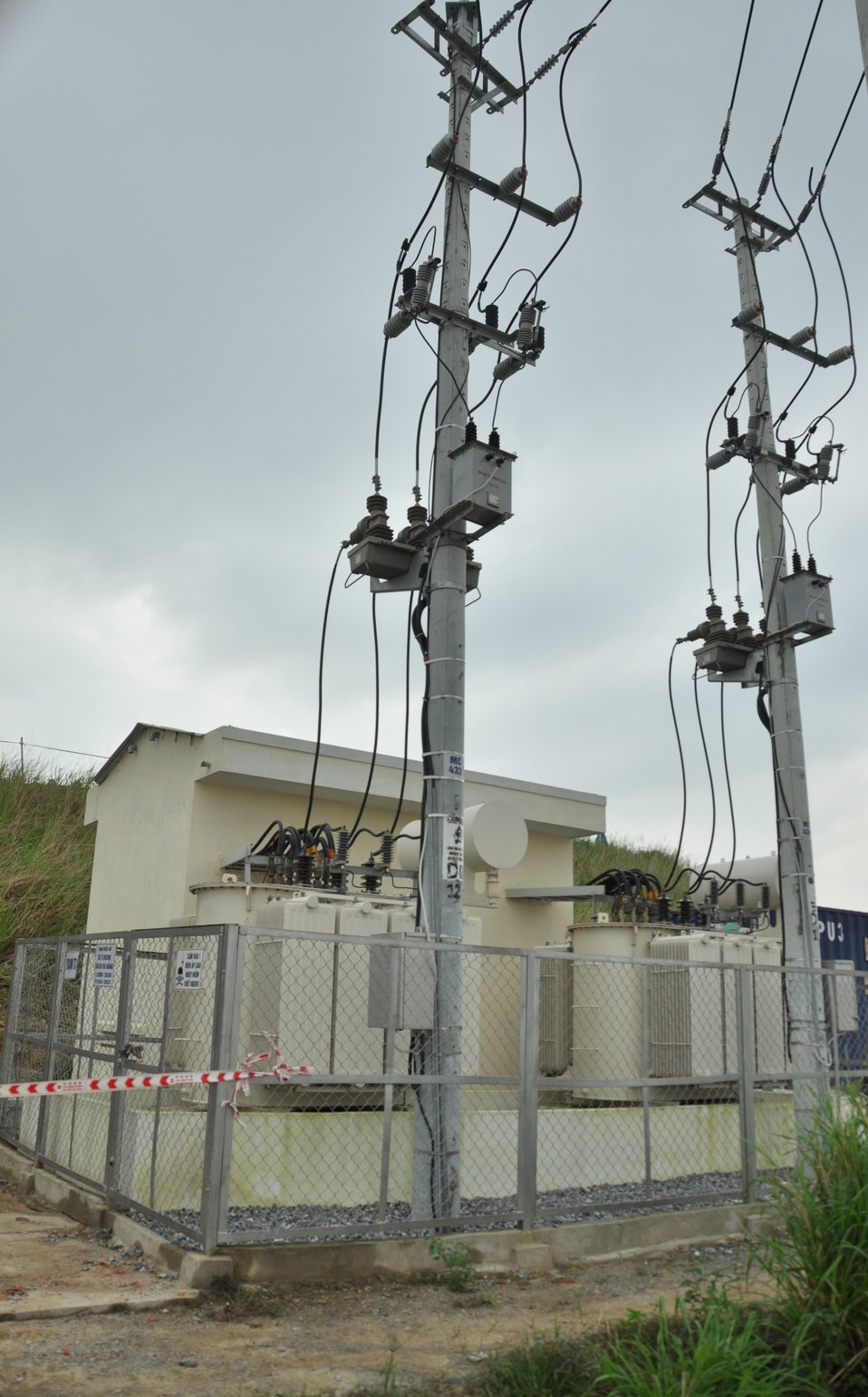 USAID Dioxin Contamination Project Progress: Electrical Power Station