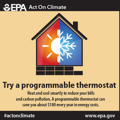 Try a programmable thermostat