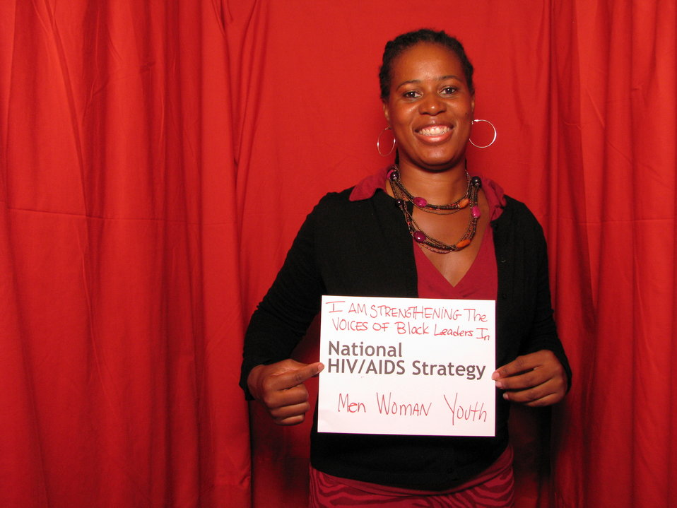 I am Strengthening the Voices of Black Leaders in the National HIV/AIDS Strategy. Men, Women, Youth.