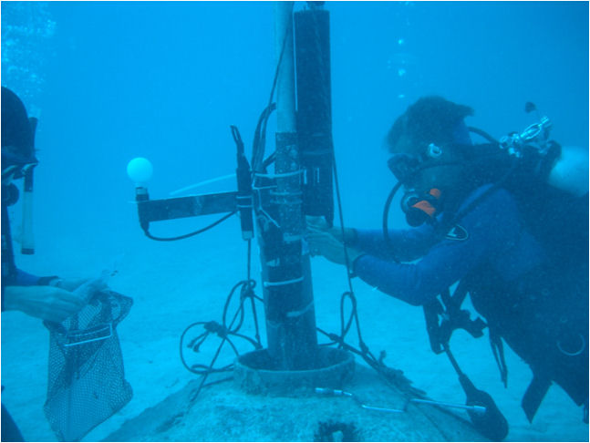 May, 2012 Monitoring water conditions on the ocean floor