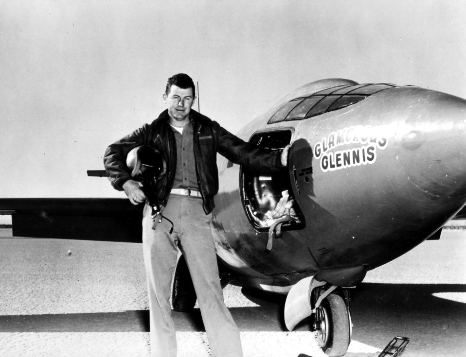 First Mach flight propels Yeager, Air Force into history