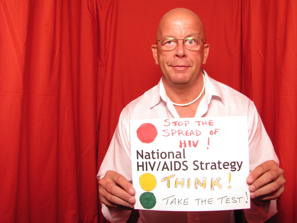 STOP the Spread of HIV! THINK! Take the Test! National HIV/AIDS Strategy.