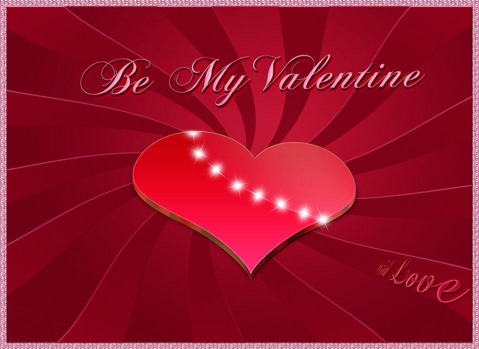 Be my valentine 3 d