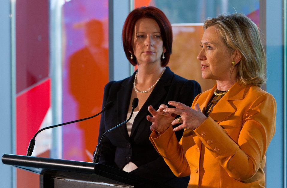 Secretary Clinton Delivers Remarks