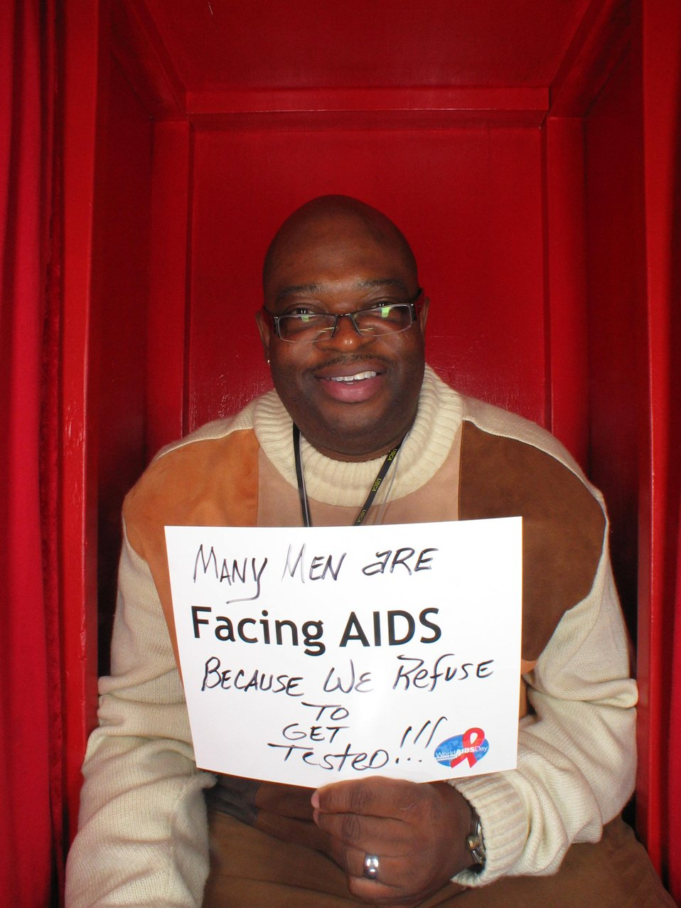 Many men are Facing AIDS because we refuse to get tested!!!