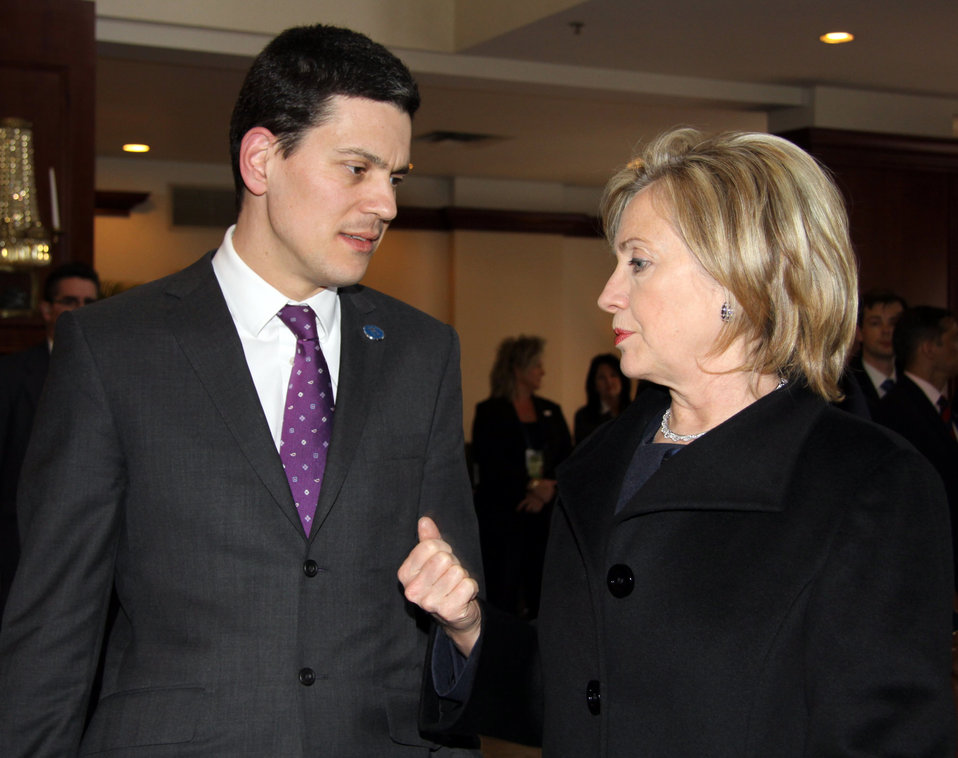 Secretary Clinton at G8 Foreign Ministers Meeting