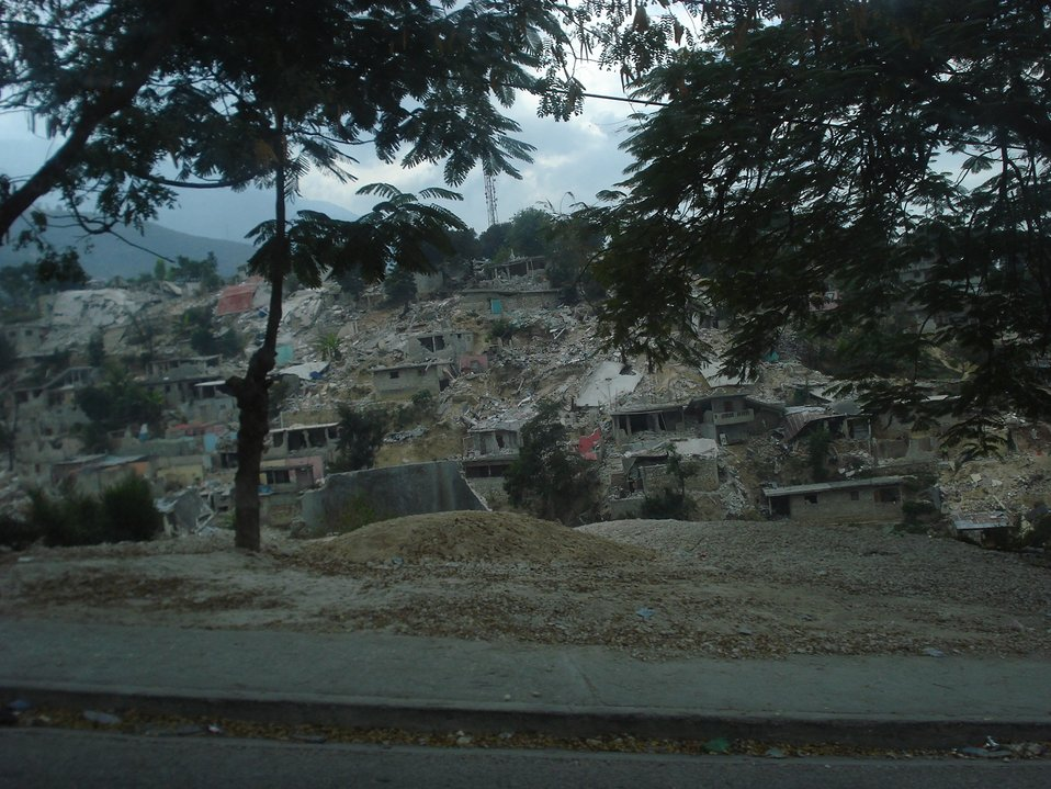 Collapsed Mountain (Haiti Earthquake - 2010)
