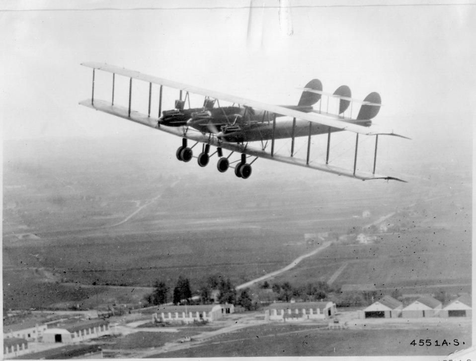 L.W.F. Giant Flying Plane