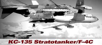 KC-135 with F-4 Phantoms