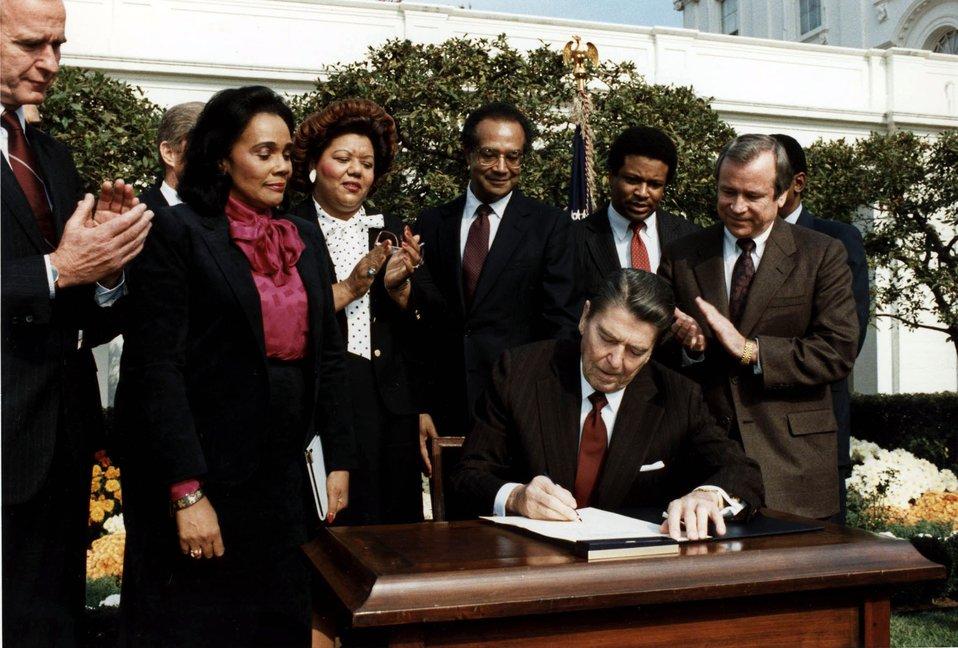 Reagan signs bill