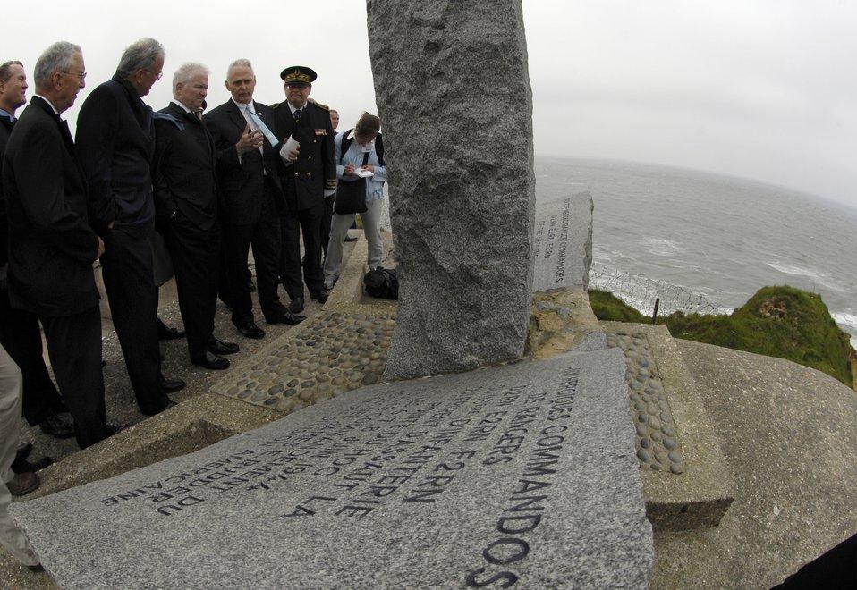 Defense secretary, servicemembers reflect on D-Day heroism
