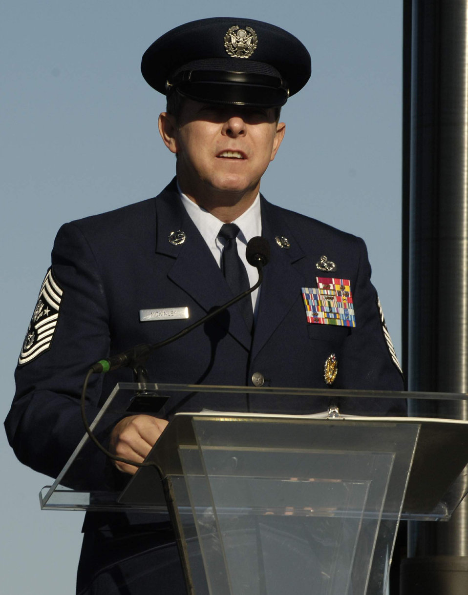 Induction ceremony at Air Force Memorial