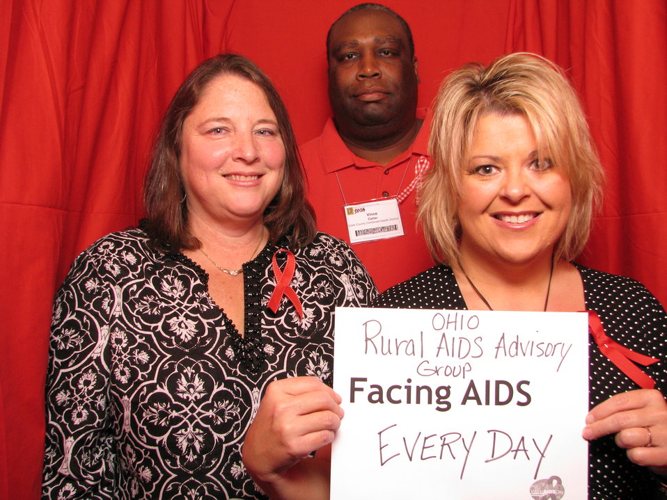 OHIO Rural AIDS Advisory Group FACING AIDS EVERY DAY.