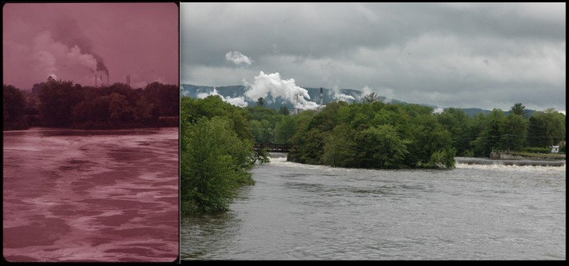 Rumford, Mexico, ME 1973 and 2012