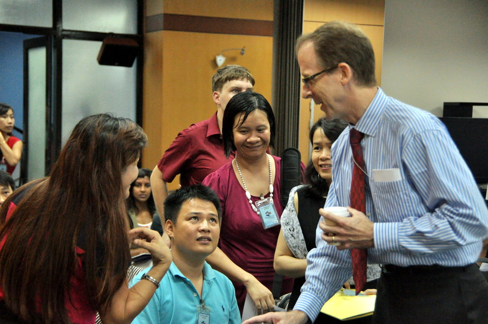 Development Grants Program Workshop in Hanoi